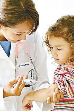秋季!让孩子安全接种疫苗