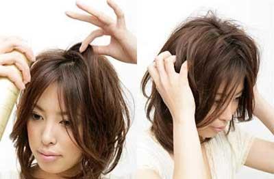 把中长发变短发分享展示图片