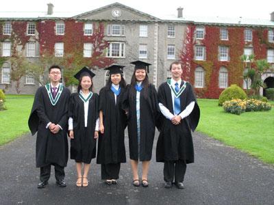 中专生和高中生申请爱尔兰留学途径
